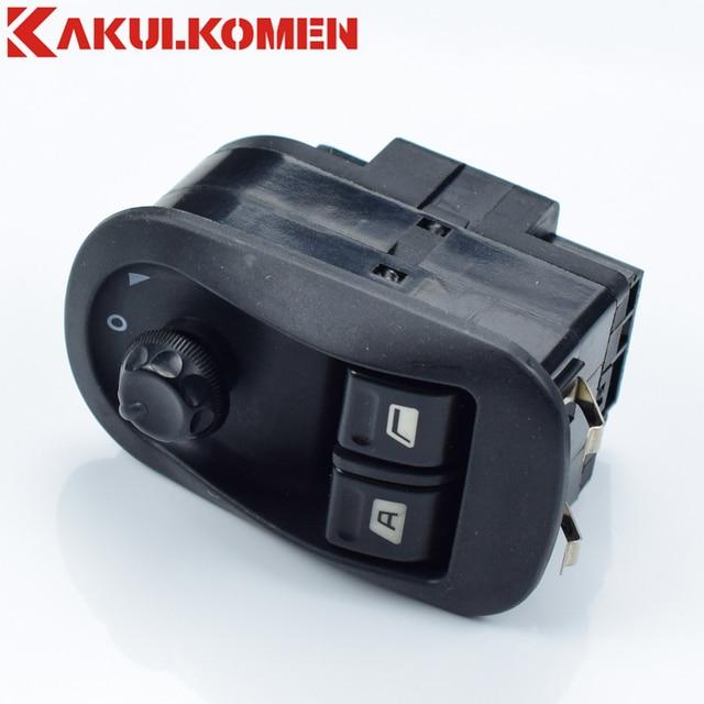 6554.WA 6554WA LHD Electric Power Window Master Lifter Control Switch Push Button Panel For Peugeot 206 207 306 Citroen Jumpy C2