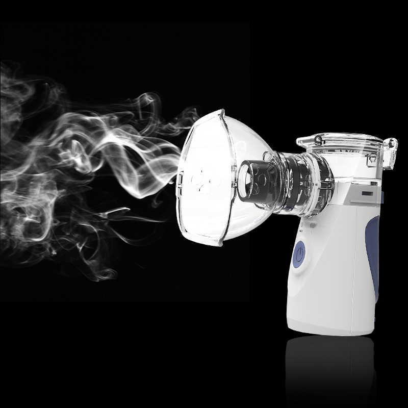 Mini Atomiseur Für Kinder Erwachsene Inhalieren Vernebler Ultraschall Vernebler Spray Aromatherapie Dampfer Gesundheit Pflege