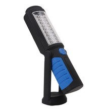 USB Charging 36+5LED Magnetic Work Hand Flashlight Emergency Inspection Work Torch Light With Hook Magnet Portable Lantern
