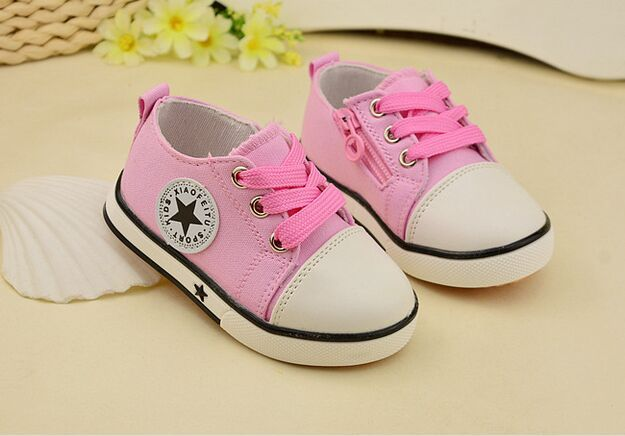 Eur21-25//Spring Canvas Children Shoes Girl Breathable Sneaker Shoes Boys&Girls Not Smelly Feet Soft Chaussure/Kids Sneakers 2