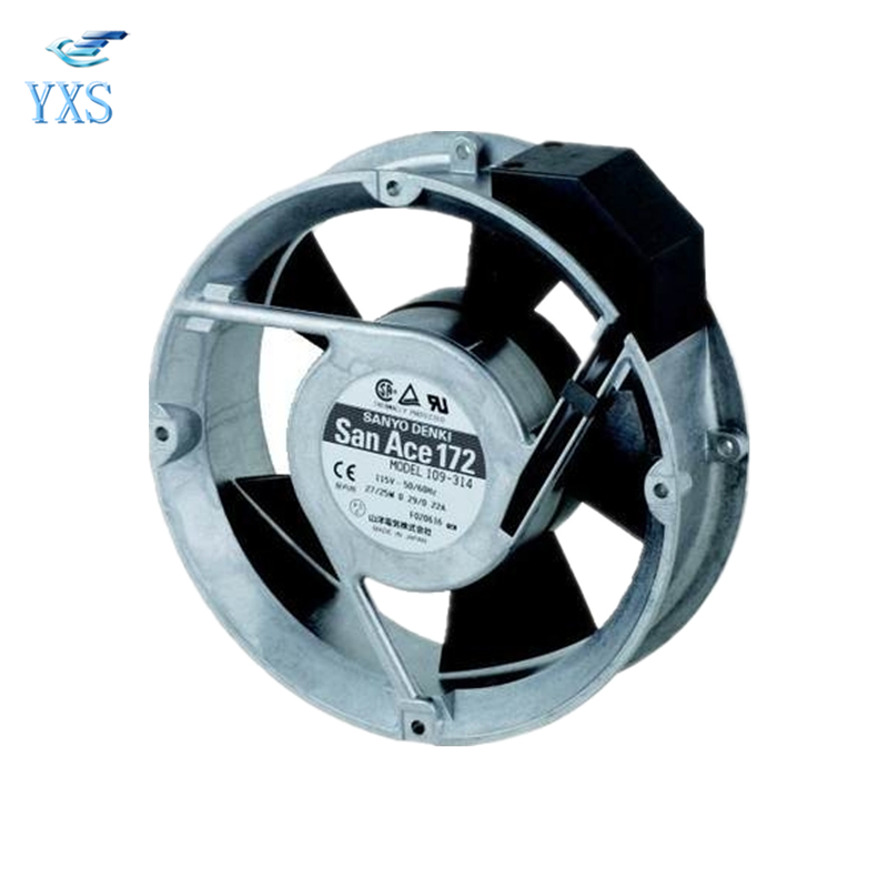 109-314 AC 115V 0.29A/0.22A 25W 3500RPM 17250 17CM 172*150*50mm 50/60HZ 2 Wires Inverter Axial Cooling Fan original s a n j u sj1738ha2 172 150 38mm 220vac 0 31a axial fan