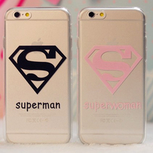 Superman Superwoman Phone Case iPhone 7Plus 7 6 6S 6Plus SE 5