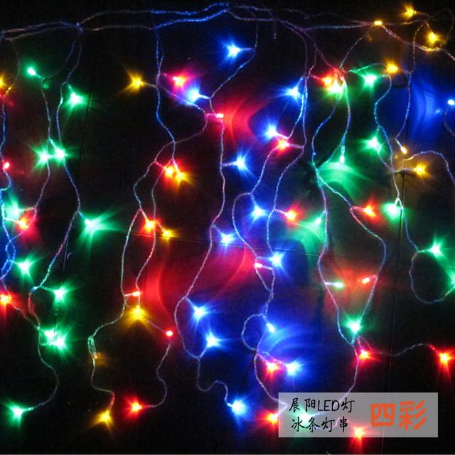 Estrela iluminação corda iluminação multicor iluminação café lâmpadas de poupança de energia lâmpadas de Natal festa de natal ao ar livre à prova d' água IP64 luz