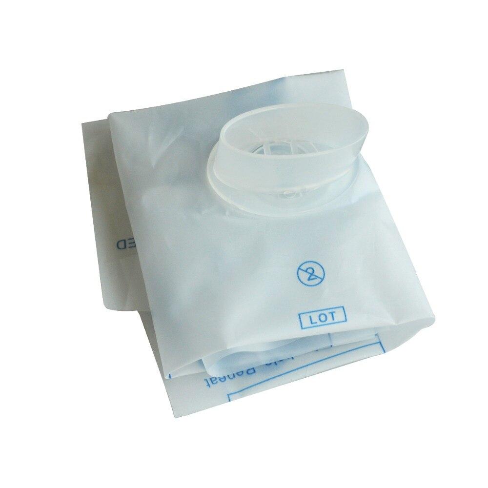 100 قطعة/الوحدة CPR جهاز تنفس الفم الإسعافات الأولية قناع النظافة الوجه الطوارئ الانقاذ الوجه درع مع البيضوي صمام للانقاذ استخدام-في أقنعة من الجمال والصحة على  مجموعة 1