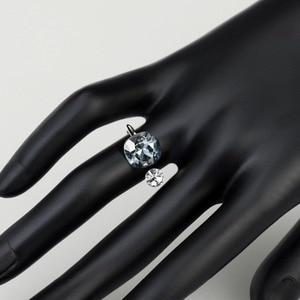 Image 3 - NeogloryคริสตัลและRhinestoneแหวนคู่สีสำหรับผู้หญิงคลาสสิกประดับด้วยคริสตัลจากSwarovski
