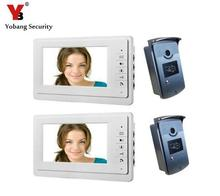Yobang Security Yobang Security 7″ Color TFT LCD Video Door Phone Doorbell system for villa interphone doorphone