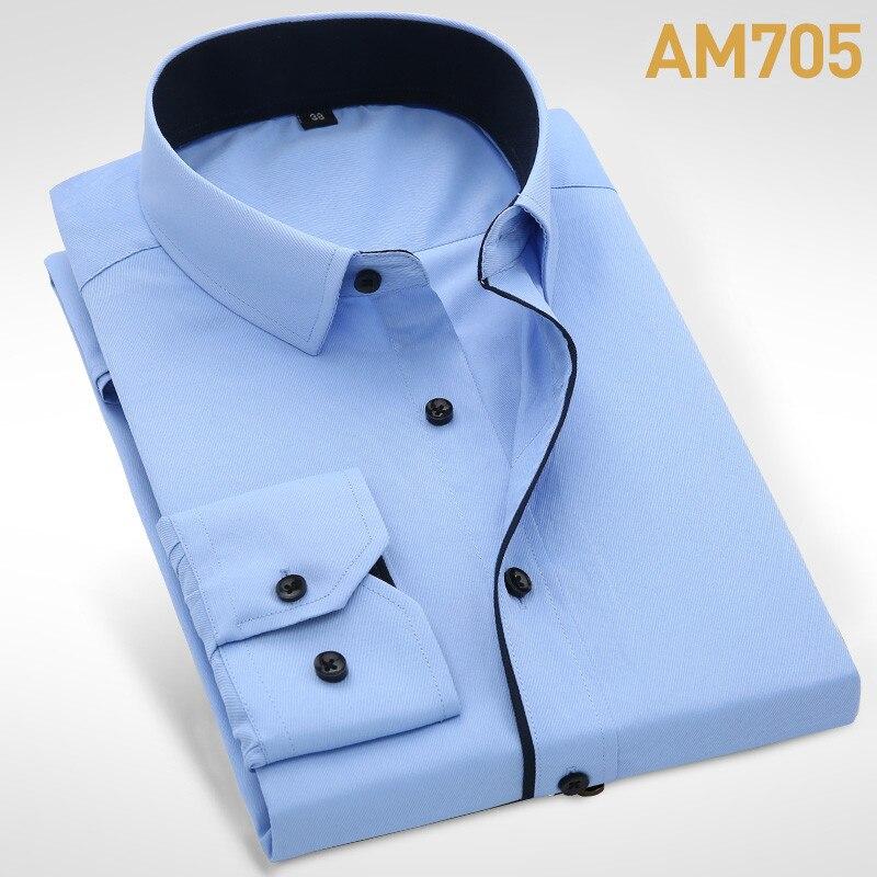 2019 Ανδρικά πουκάμισα με μακρύ μανίκι - Ανδρικός ρουχισμός - Φωτογραφία 6