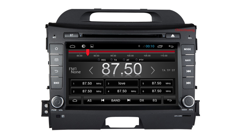 HD 1024x600 Android 7.1 dvd-плеер автомобиля для Kia Sportage R 2010-2015 с Радио GPS навигации видеорегистратор, 2 ГБ Оперативная память + 32 ГБ Встроенная память