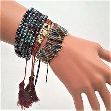 Go2boho Delica MIYUKI Bracelet Women Pulseras Mujer 2019 Lover Couple Gift Jewelry Etsy Heart Miyuki  JoyeriaBileklik
