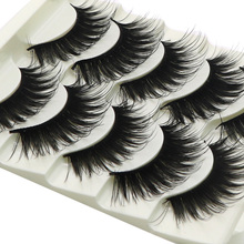 30Pair Natural Thick Long False Eyelashes Wimpern Eyelash Extension Eye Lashes Voluminous Makeup Fake Lashes For Building Cilios