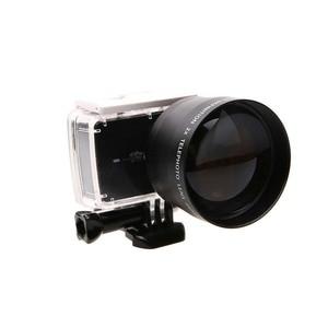 Image 5 - JINSERTA 52mm Zoom Lens for Gopro Digital Camera DSLR Accessory 2.2x Zoom Lens Telephoto For Gopro Hero 5 6 3+ 4 Xiaoyi 4Ki