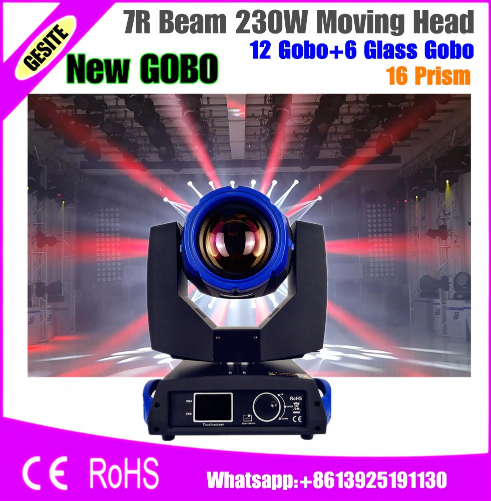 Free Shipping 230w 7R Beam Moving Head Light Stage Light Professional DJ /Bar /Party /Show