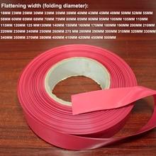 1kg batterie rétractable tube emballage film Lithium batterie bricolage paquet remplacement film PVC thermorétractable manchon isolation tube