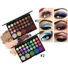 NAQIER Eye Makeup Nudes Palette 40 Color Matte Eyeshadow Pallete glitter powder Eye Shadow Earth shadows brush set stamp pigment