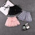 Новинка девушки юбки балетной пачки юбки балерина детская шифон пушистый pettiskirts дети всех святых свободного покроя конфеты цвет юбка