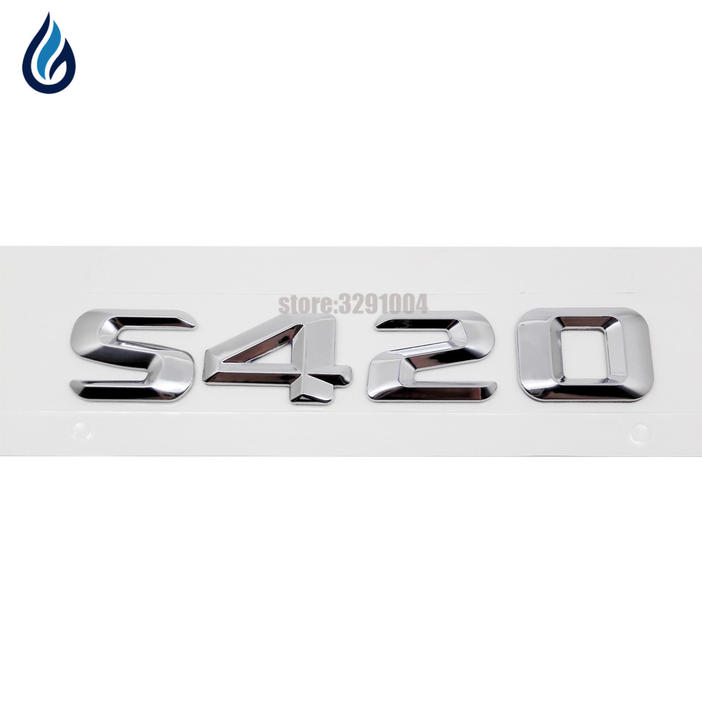 For Mercedes C107 R107 W126 R129 W140 W164 X164 R170 W203 Hood Badge Emblem OES
