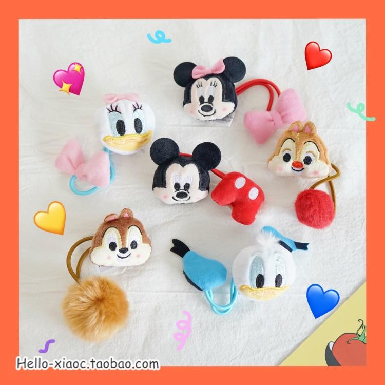 Dinsey cosplay Sleeping Donald Duck Headband ear plush Toy Gift