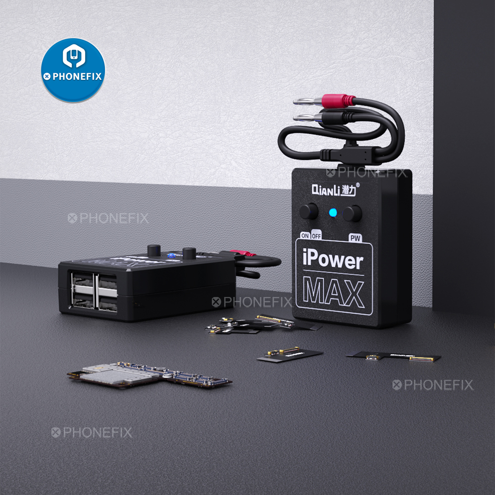 QIANLI Power Supply IPower MAX Test Cable For IPhone XS MAX X 8G 8P 7G 7P 6 6S 6SP 6G 6P DC Power Control Cable Test Line IPower