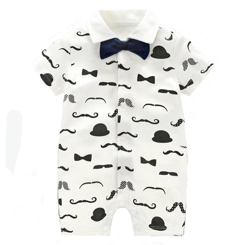 TONGMAO Brand Newborn Baby Boy Pajacyki dziecięce Gentleman ubrania - Odzież dla niemowląt - Zdjęcie 4