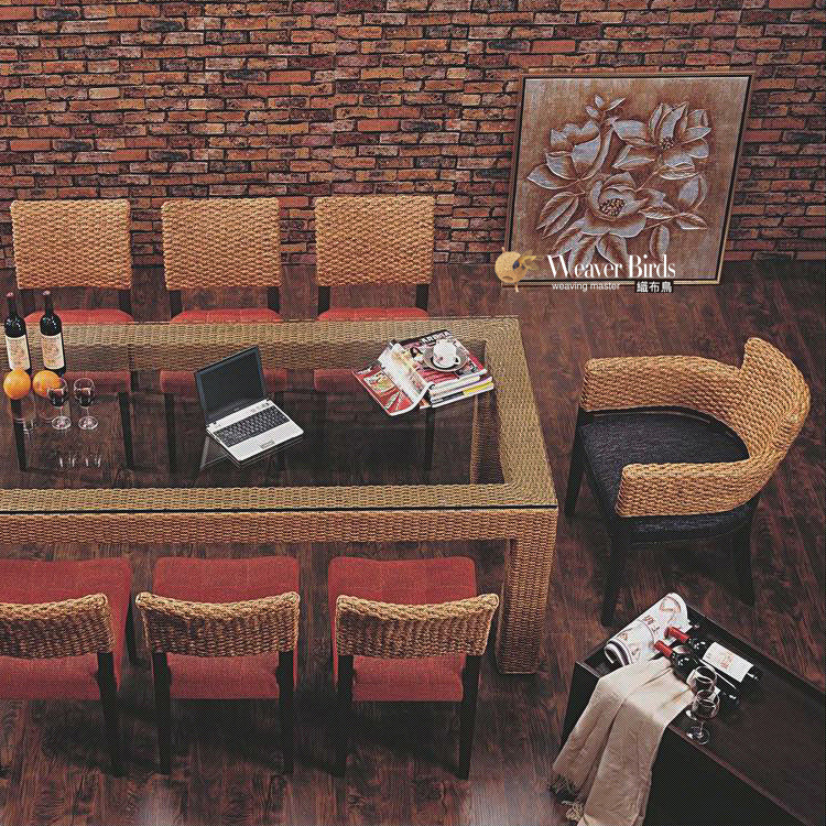 weaver rattan furniture rattan dining restaurant glass dining