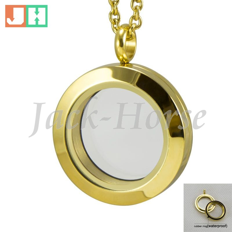 316L Stainless Steel pendants for jewelry making Charms Floating Locket Medaglione