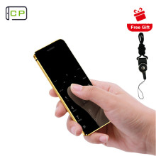 Ультратонкая Кредитная карта Ulcool V36, мобильный телефон с металлическим корпусом, Bluetooth 2,0, Dialer, анти-потеря, FM, Mp3, две sim-карты, мини мобильный телефон