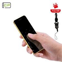 Ulcool V36 V66 + Ultradünne Karte Handy Mit Metall Körper Bluetooth 2,0 Dialer Anti-verloren FM Mp3 Dual SIM karte Mini Handy