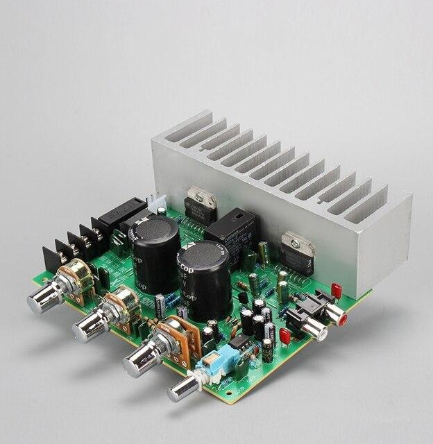 Dual TDA7294 HIFI 2,0 ESTÉREO 100w + 100w amplificador de potencia de Audio Junta RCA Placa de control de tonos