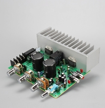 Çift TDA7294 HIFI 2.0 Stereo 100 w + 100 w Ses güç amplifikatörü Kurulu RCA Ton Kurulu
