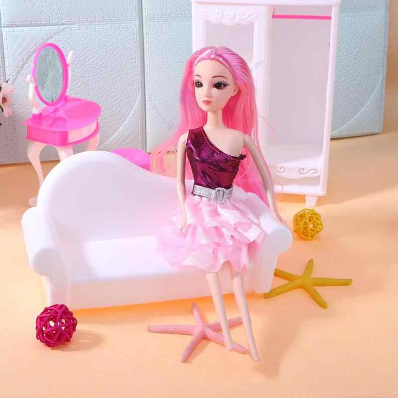27 см/10,63 Подвижная кукла DIY обнаженное тело для куклы 1 шт шарнирное тело без головы выпечка пирожное кукла игрушки для мальчиков и девочек интеллектуальные подарки