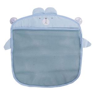 Image 5 - Dessin animé tenture murale sac de rangement sac tricoté bébé filet de bain jouet panier organisateur