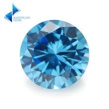 Размер 30 ~ 10 мм искусственный камень aaaaa синий Цирконий