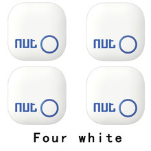 4Pieces Nut 2 Smart Key Finder itag Bluetooth Tracker Locator Luggage Wallet Phone Key Anti Lost Reminder Update from Nut mini(China)