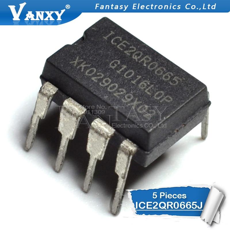 5pcs ICE2QR0665 DIP8 ICE2QR0665J DIP 2QR0665 DIP-8 ICE2QR0665Z
