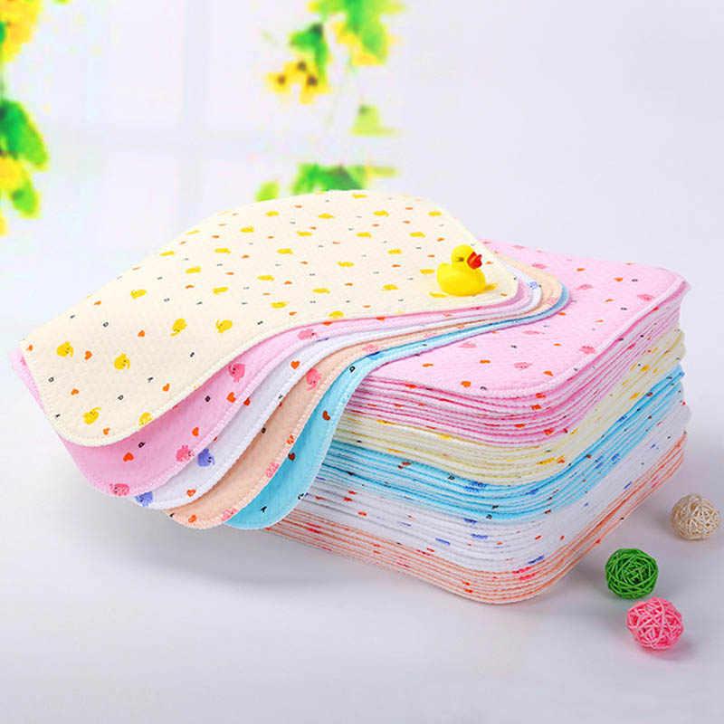 Cambiador de pañales de bebé de 25*35cm para recién nacidos, colchón para cambiar pañales impermeable de algodón para bebés, cochecito de bebé, alfombrilla lavable para cambiar pañales