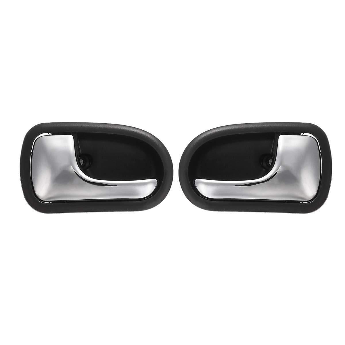 Left right car front rear chrome interior door handle for - 2002 mazda protege door handle interior ...