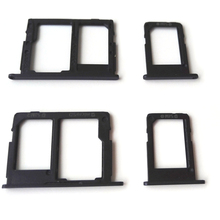 50pcs SIM & SD Card Holder Tray For Samsung Galaxy J5 Prime J7 Prime On5 On7 G6100 G5700 Dual Single Card Holder Slot Adapter