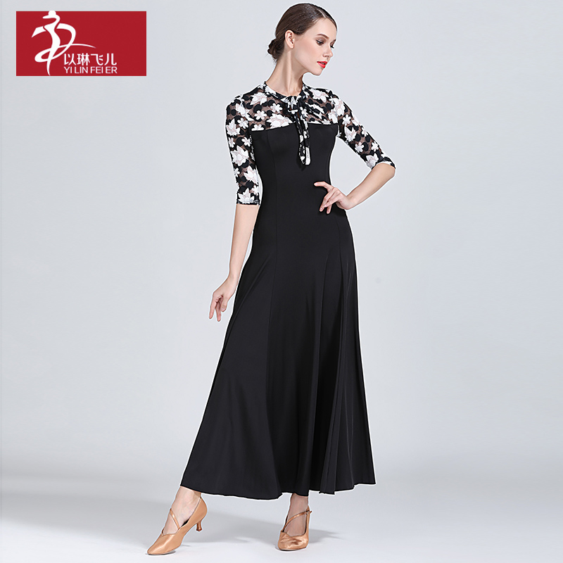 New Ballroom Dance Competition Dress Dance Ballroom Waltz Dresses Standard Dance Dress Women Ballroom Dress S9034