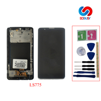5.7 Original LCD Display For LG Stylus 2 Stylus2 K520 LS775 LCD Touch Screen with Bezel Frame LCD Tela module pantalla Replace