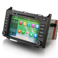 8 Android 7.1 Autoradio GPS DAB+DVR Navi Car Radio for Mercedes A Class W169 B Class W245 Sprinter Vito Viano bluetooth 3g AUX