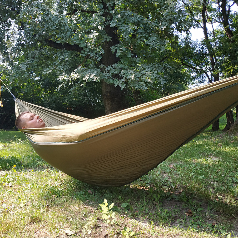Image 3 - Lightweight Full Length Hammock Underquilt Under Blanket Ultralight Camping Insulation Sleeping Bag 40 F to 68 F (5 C to 20 C)-in Hammocks from Furniture