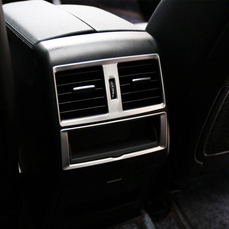 2 adet Araba Styling İç Trim Araba Arka Hava Firar dekorasyon çıkartması Mercedes Benz ML W166 GLE Coupe C292 GLS x166 GL AMG
