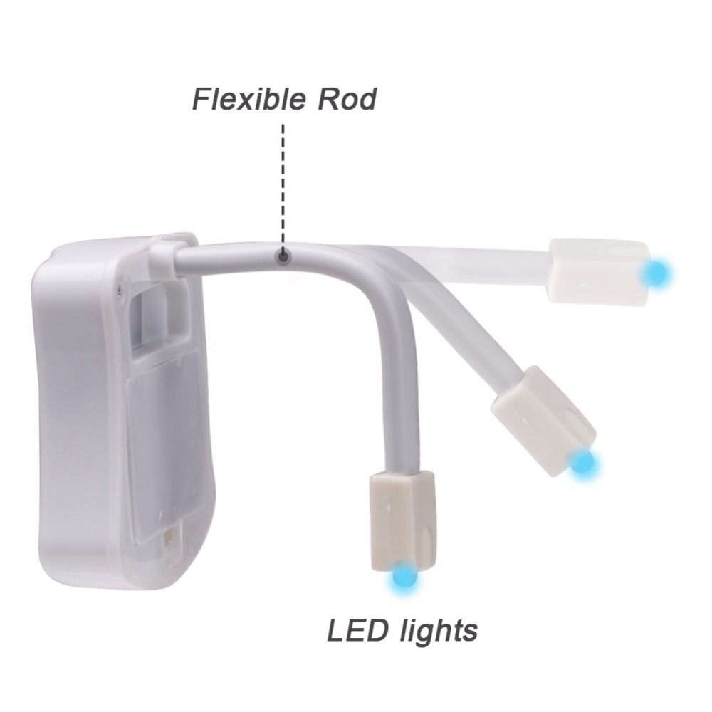 SuperNight Smart Toilet LED Night Light PIR Motion Sensor Light Control 8 Colors Backlight WC Toilet Bowl Seat Lamp for Children (7)