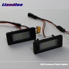 цена на Liandlee For Volkswagen VW Sharan 2011~2015 / LED Car License Plate Lights / Number Frame Light / High Quality LED Lamp