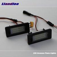 Liandlee For Volkswagen VW Sharan 2011~2015 / LED Car License Plate Lights / Number Frame Light / High Quality LED Lamp