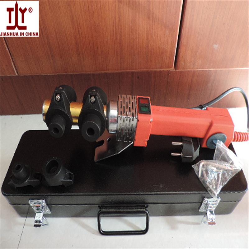 Free shippinig new 20-32mm Electronic thermostat fuser PPR pipe welding machines melt plastic tube welder, PE PB fuser welder electronic thermostat fuser hot melt machine 700w thickened abrasive rpepb2032