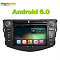 Quad Core 1024*600 Tela HD Android 6.0 2Din DVD Do Carro para Toyota RAV4 Audio Video Stereo GPS Navigation Radio RDS 3G 4G wi-fi