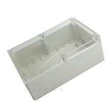 Горячая 230x150x85 мм водонепроницаемый прозрачный пластиковый электронный ящик для проекта корпус-W310