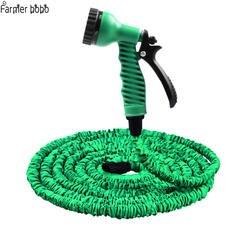 Лидер продаж 25FT-100FT удлиняемый садовый шланг Magic гибкий шланг для воды Пластик шланги, трубы с пистолет для полива