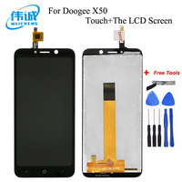 WEICHENG 5.0''For Doogee X50 X50L LCD Display+Touch Screen Digitizer Assembly For Doogee X50/X50L Mobile Phone Accessories